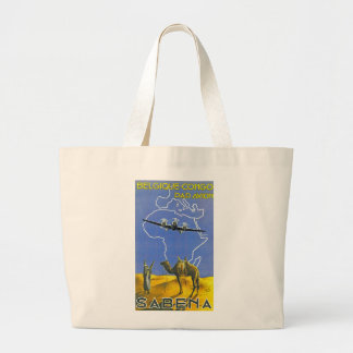 Sabena ~ Belgique Congo Large Tote Bag