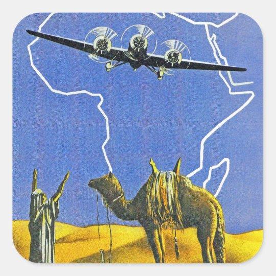 Sabena ~ Belgique Congo Square Sticker