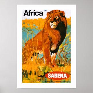 ~ Sabena de África Poster