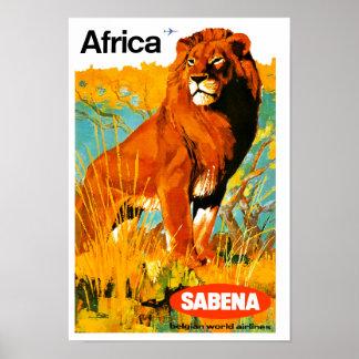 ~ Sabena de África Póster