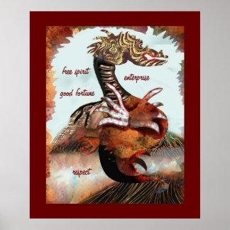 Saber del dragón poster