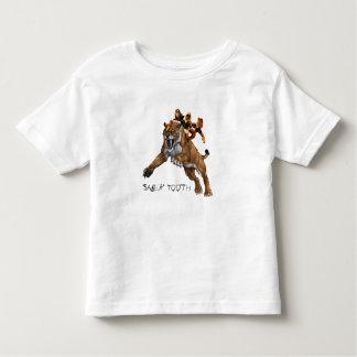 Saber tooth & 3 Studges Toddler T-shirt