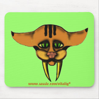 Saber-tooth baby mouthepad mouse pad
