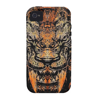 Saber Tooth iPhone 4/4S Cover
