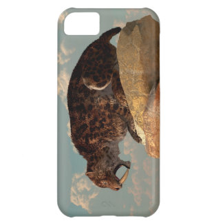 Saber-Tooth on a Rock iPhone 5C Cover