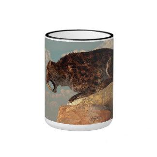 Saber-Tooth on a Rock Coffee Mug