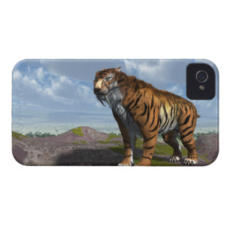 Saber Tooth Tiger iPhone 4 Covers