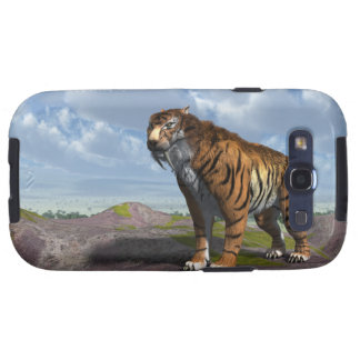 Saber Tooth Tiger Galaxy S3 Covers