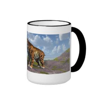 Saber Tooth Tiger Coffee Mug