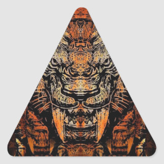 Saber Tooth Triangle Sticker