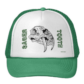 SABER TOOTH TRUCKER HAT