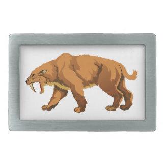 Saber-toothed Cat Belt Buckle