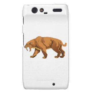 Saber-toothed Cat Motorola Droid RAZR Cover