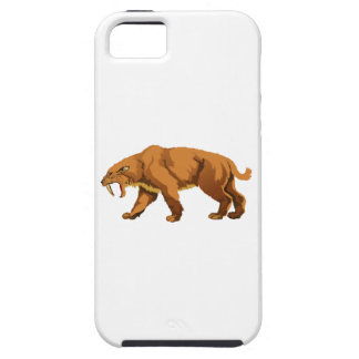 Saber-toothed Cat iPhone 5 Covers