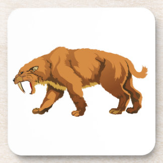 Saber-toothed Cat Coasters