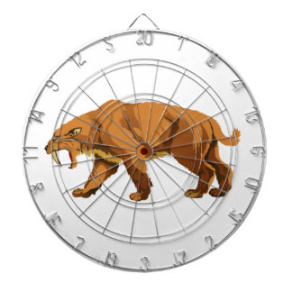 Saber-toothed Cat Dart Board