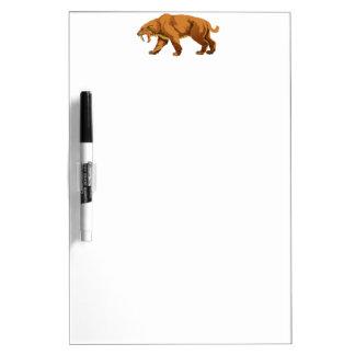 Saber-toothed Cat Dry-Erase Boards