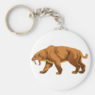 Saber-toothed Cat Keychains