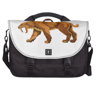 Saber-toothed Cat Bags For Laptop