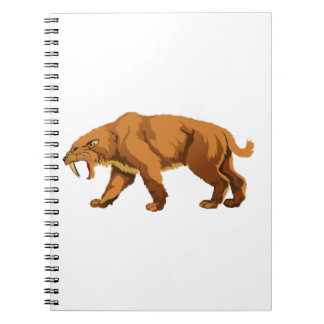 Saber-toothed Cat Note Books