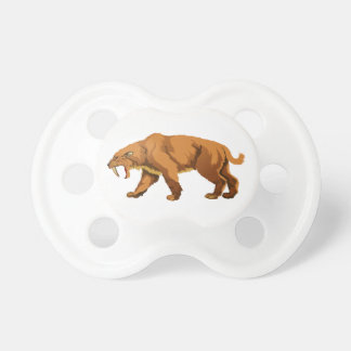 Saber-toothed Cat Pacifiers