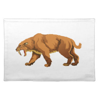 Saber-toothed Cat Placemats