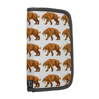 Saber-toothed Cat Folio Planner