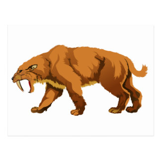 Saber-toothed Cat Post Cards