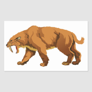 Saber-toothed Cat Sticker