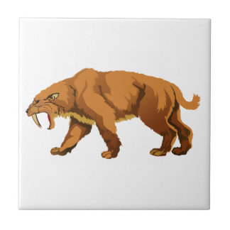 Saber-toothed Cat Tiles