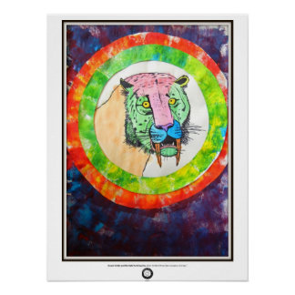Saber-Toothed Circus Tiger Poster