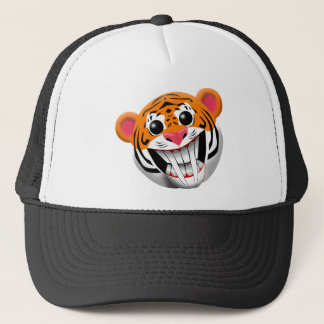 saber-toothed tiger trucker hat