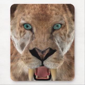 Saber Toothed Ttiger or Smilodon Mouse Pad