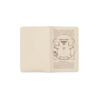 Saber-toothed Virtuvian: Pocket Moleskine Notebook