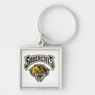 Sabercats Youth Football & Cheer Key Chain