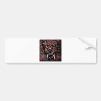 Sabertooth Bumper Sticker