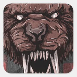 Sabertooth Sticker