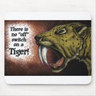 Sabertooth Tiger Mouse Pad