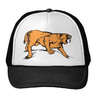 Sabertooth Tiger Trucker Hat