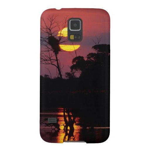 Sabi River At Sunset, Kruger National Park Galaxy S5 Case