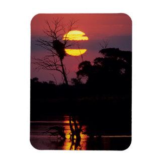 Sabi River At Sunset, Kruger National Park Magnet