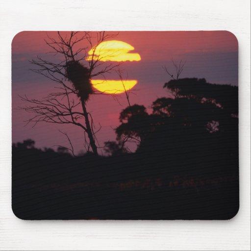 Sabi River At Sunset, Kruger National Park Mousepad