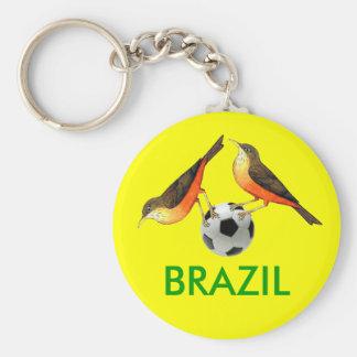 Sabia con los regalos de los amantes del futebol d llavero