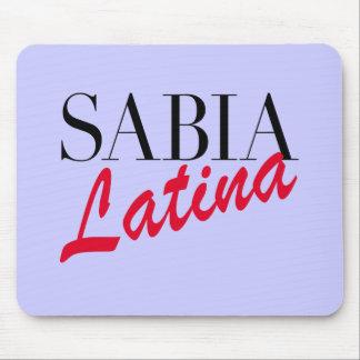 Sabia Latina Mouse Pad