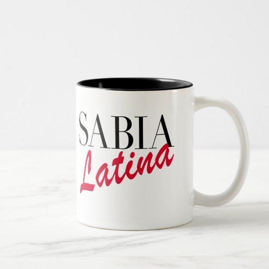 Sabia Latina Mug