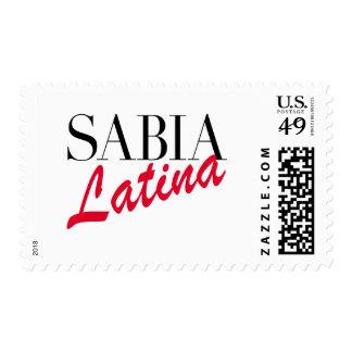 Sabia Latina Stamp