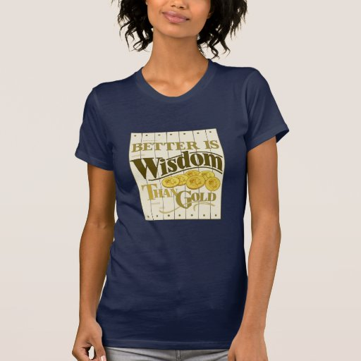 Sabiduría Camisetas