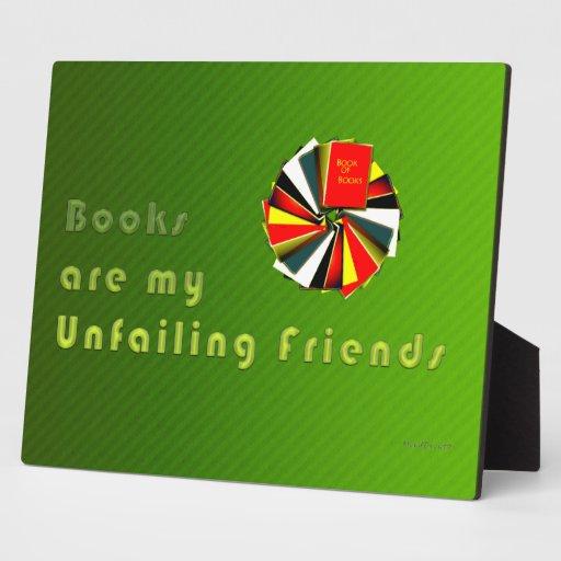 Sabiduría de los Booklovers Placas De Madera