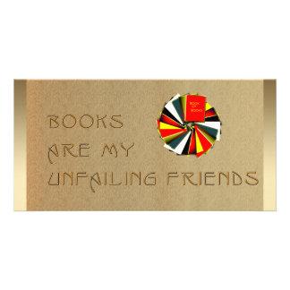 Sabiduría de los Booklovers Tarjetas Fotograficas Personalizadas