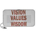 Sabiduría de los valores de VISION: REGALOS BARATO